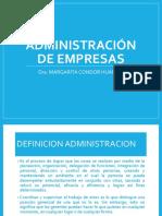 Clase II- Administracion