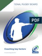 Coaching Key Factors - 2013
