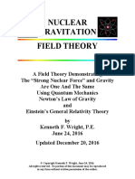 Nuclear Gravitation Field Theory