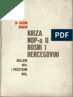 Hurem Rasim - Kriza Nop-A u BiH