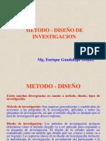 Método - Diseño de Investigación 2017