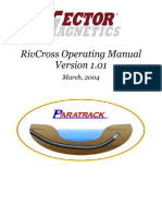 RivCross Operating Manual 1.02