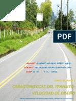 Caracteristicas del transito - Velocidad de Diseño.pdf