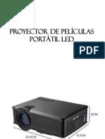 Proyector de Películas Portátil Led
