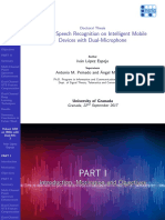 Robust Speech Recognition on Intelligent Mobile Devices with Dual-Microphone (Slides)
