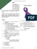 Violencia Doméstica - Wikipedia, La Enciclopedia Libre