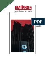 Catalogo Semikron Disipadores