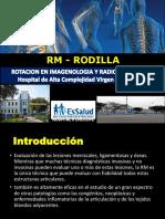 Rm de Rodilla