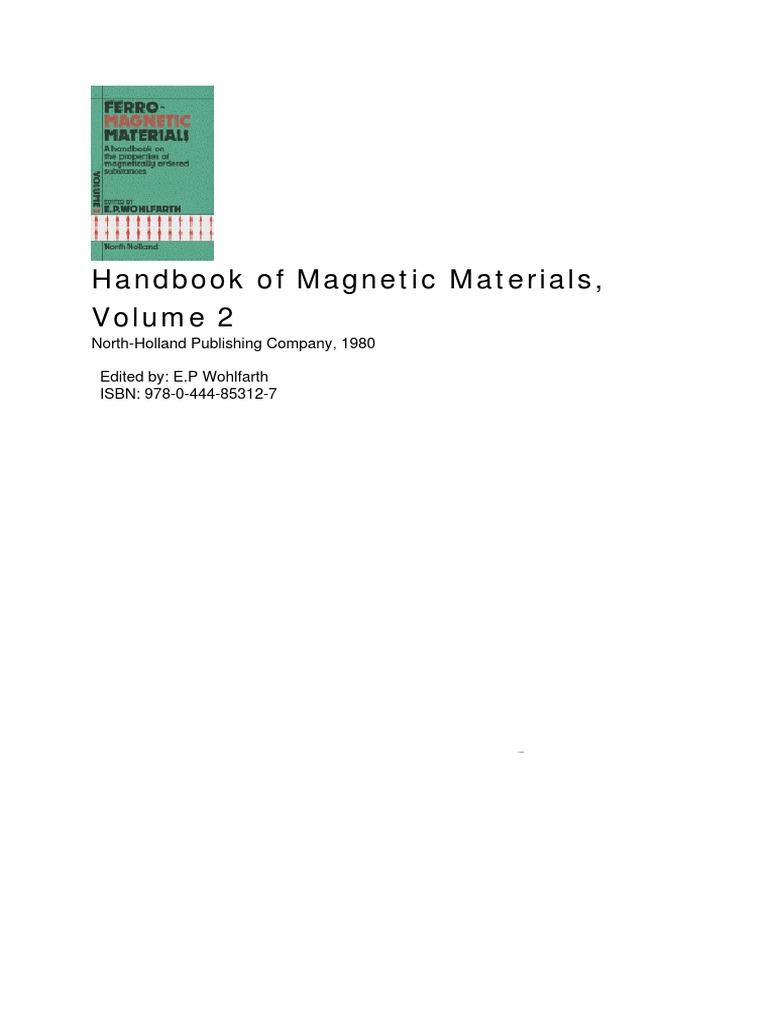 Handbook Of Magneticpdf Chemistry Condensed Matter Physics Wards Gilson Wiring Diagram Magneto