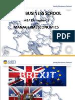Brexit Economics