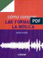Cómo Conocer Las Formas Musicales - André Hodeir.