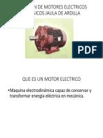 Capacitacion Motores Jaula de Ardilla