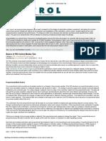 Advantage and Disadvantage of PID