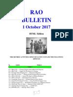 Bulletin 171001 (HTML Edition)