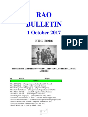 Bulletin 171001 Html Edition United States Department Of