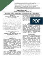 Resolucion 122 Gaceta Oficial 38314