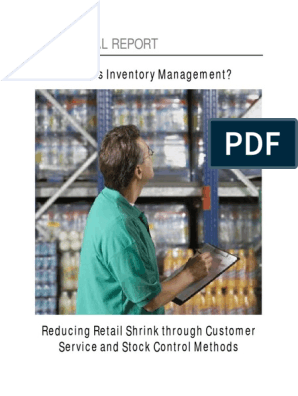 LPM - Inventory Shrinkage Special Report | Inventory | Retail