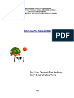 Apostila de Bioclimatologia I[1]