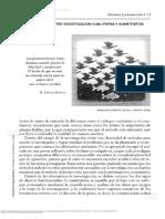 Proceso de La Investigaci n Cualitativa Epistemolog a Metodolog a y Aplicaciones