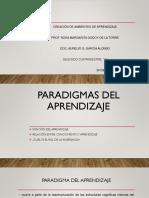 Paradigmas Del Aprendizaje