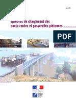 Épreuves de Chargement Des Ponts-routes Et Passerelles Piétonnes