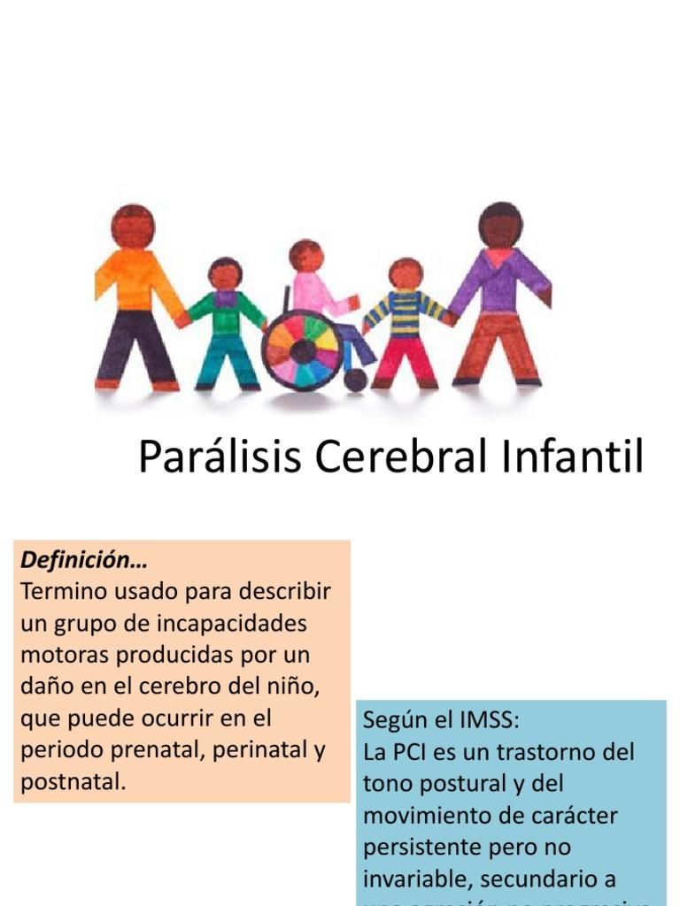 2.- Parálisis Cerebral Infantil