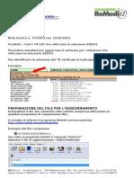 Nota 77-2014 (Rev. 19.03.2015) Procedura Aggiornamento SIS231