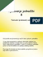 8 Rjesavanje Jednadzbi Tekstualni