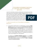 Paradigma Pedagóco Ignaciano- Enseñar a Aprender