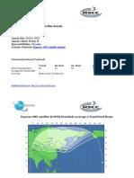 RSCC Express AM5 Satellite Footprint