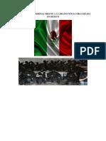 Politica Criminal Frente a La Delincuencia Organizada en Mexico 01
