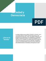 Sociedad y Democracia