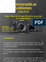 Cours Photographie 3