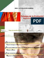 Paisajes de La Evolución Migraciones de Ayer y Hoy