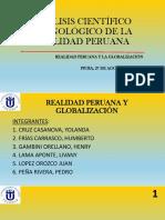 Analisis Cientifico Tecnologico-realidad Peruana y Globalizaciom