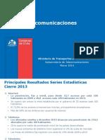 Informe Estadistico SUBTEL 2013