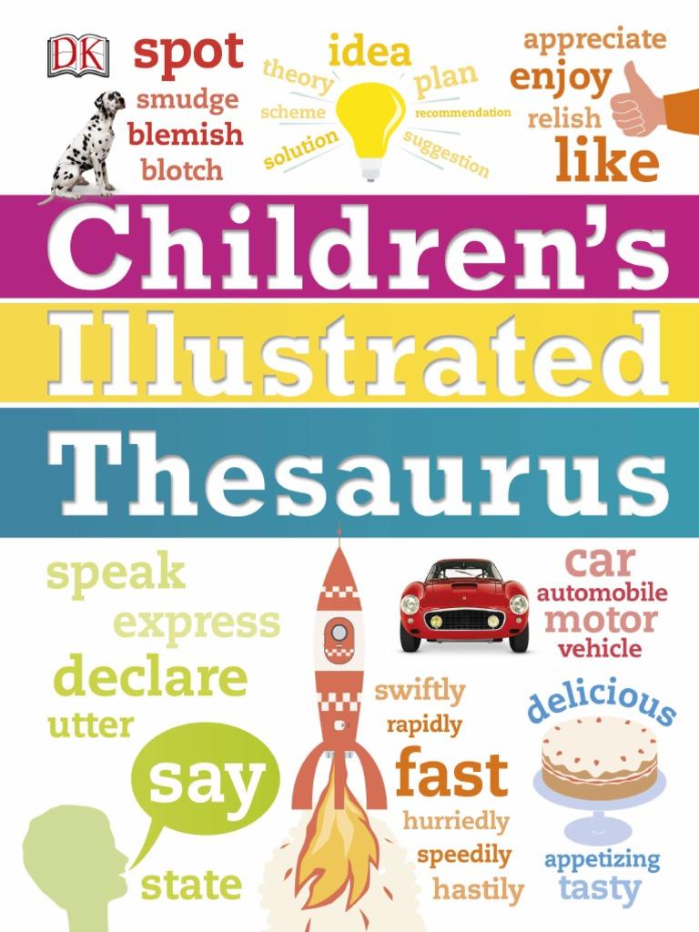 Illustrated Thesauru - Dorling Kindersley | Adverb | Adjective