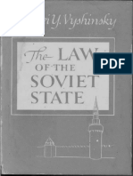 1948 Vyshinsky-The Law of the Soviet State