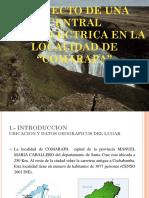 Proyecto Centrales de Comarapa