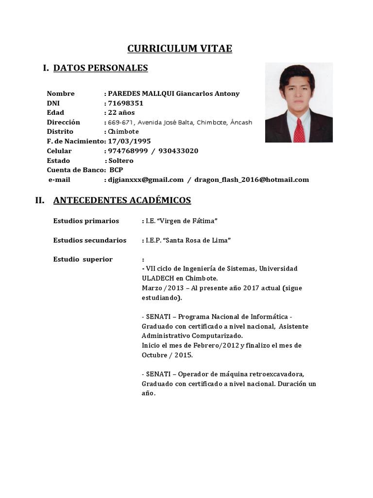 Excepcional Objetivo Del Currículum General Para El Asistente ...