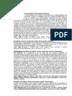 Jurisprudencia sobre el inicio del computo del plazo de Prescripción en enfermedades laborales