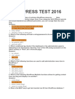 Wordpress Test 2016