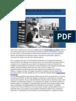 La Falta de Autonomía de La Ciencia Política Peruana