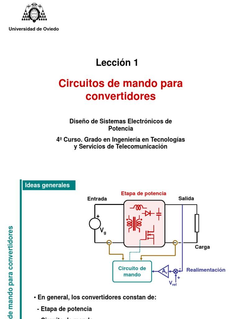 Circuito Y Servicios : Circuitos de potencia circuitos de mando