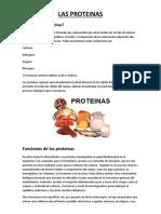 Las Proteinas