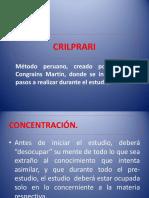 Método-CRILPRARI