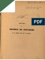 (1856) LA INFLUENCIA DEL CRISTIANISMO EN EL DERECHO CIVIL DE LOS ROMANOS.pdf