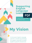 supporting english language learners- vision and plan