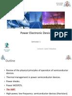 Diseño de circuitos de potencia - IGBT
