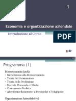 1. Introduzione Al Corso